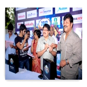 Celebrities voting for Edison Awards 2012